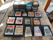 lot of Atari 2600 Game Cartridges TESTED