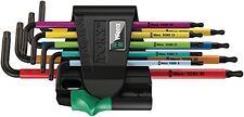Wera 05073599001 Torx Key Set 967 SPKL 9 TORX BO Multicolour Tamper-proof Ballen
