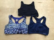 The North Face-C9 -Aerie- Sports Bras Size Medium - Lot of 3 Blue Non Padded