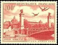 "FRANCE TIMBRE STAMP AVION N° 28 "" GRAND PALAIS PONT ALEXANDRE III"" NEUF XX TTB"