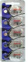 5 Pcs Maxell 377 SR626SW LR66 AG4 376 LR626 1.55V Silver Oxide Battery Exp 2023