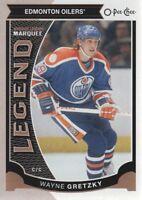 2015-16 O-Pee-Chee Hockey #583 Wayne Gretzky Legend Edmonton Oilers
