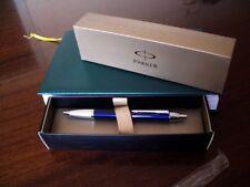 Parker IM Ballpoint Pen Silver Clip Business Parker Metal Blue Ball point Pen J7