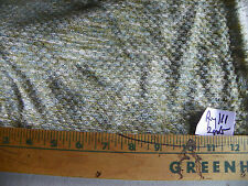 Green Dot Print Chenille Fabric / Upholstery Fabric 1 Yard R111