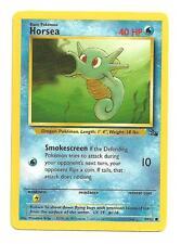 Horsea Pokemon Fossil Common Individual Card (49/62) - NM/M