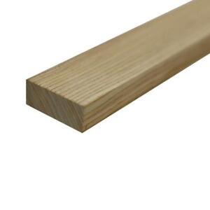 """Ash Mince Stock Charpente Planche - 3/4 """" X 2 """" x 12 """""""