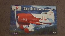 Box Art and Instructions for an Amodel Gee Bee Super Sportster R1