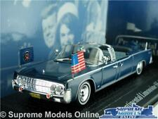 LINCOLN CONTINENTAL LIMOUSINE KENNEDY MODEL CAR 1:43 SCALE NOREV PRESIDENTIAL K8