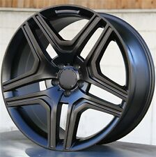 (4)SET 22X10 5X112 Wheels & Tires Pkg M BENZ GL450 ML550 GL550 ML350 GL450 ML500