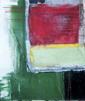 "SHEILA Diaz Garcia 3C CUBAN FINE ART 39""x46"" Original Acrylic Painting Cuba"