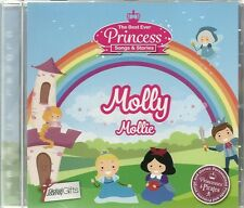 MOLLY / MOLLIE THE BEST EVER PRINCESS SONGS & STORIES PERSONALISED CHILDREN'S CD