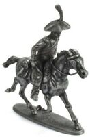 Figure Soldier Napoleonic War Austerlitz metal Military courier horse 1/32 Atlas