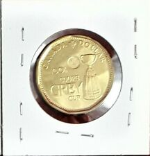 """2012 Canada $1 Dollar - """"100th Grey Cup"""" Variety - BU"""