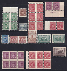 Canada 1942-43 MNH War Issue Stamp Lot  HICV  See*