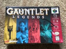 Gauntlet Legends Nintendo 64 Factory Sealed 1998 H Seam Seal BRAND NEW