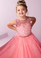 Pageant Party Dance Princess Ball Gown Flower Girls Formal Dress wedding Dress