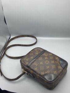 Louis Vuitton Danube Women's Shoulder Bag - Brown Monogram