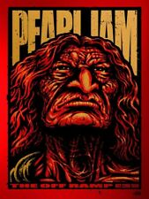 Pearl Jam Off Ramp 1990 Variant Poster Signed/Numbered Ames