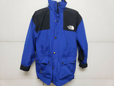The North Face Blue Black Gore Tex Jacket Removable Fleece Liner & Hood Medium