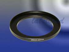 49mm-62mm Filter Adaptor Ring Converts 49mm lens thread to 62mm 49-62 Step-Up
