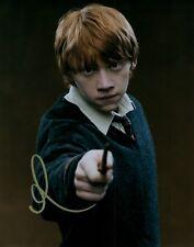 Rupert Grint Hand Signed 8x10 Autographed Photo COA Harry Potter Proof 1