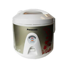 PANASONIC SR-TEM10 1.0L ELECTRIC RICE COOKER & STEAMER - METALLIC MAPLE