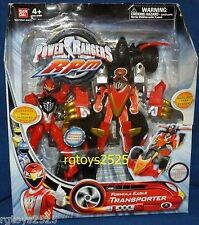 "Power Rangers RPM Formula Eagle Transporter w 5"" Red Eagle Ranger New 2009"