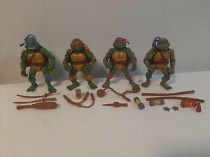 Vintage 1992 Playmates Toys TMNT Lot of 4 Movie Star Figures