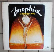 """JOSEPHINE BAKER DOPPIO LP 12"""" X 2 JOSEPHINE A BOBINO 1975 - FRA FESTIVAL"""
