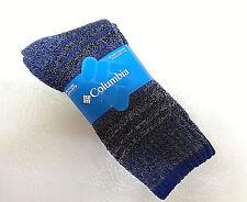 8c6fcf02c21 Columbia Womens 2-pk. Moisture Control Cotton Arch Support Crew Socks Blue