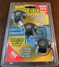 Dac Technologies 3 Gun Trigger Locks Model Tvpo95 handgun shotgun rifle new