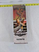 "Jurassic World Basic Dino Velociraptor Realistic Action Figure 12"" ~  Ships FREE"