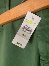 REDUCED: Ann Taylor LOFT Green Ankle Jeans 30/10 - NEW WITH TAGS, originally $89