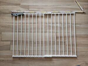 Reer 46120 T-gate Cancelletto bambini Doppio Fissaggio, Active Lock,