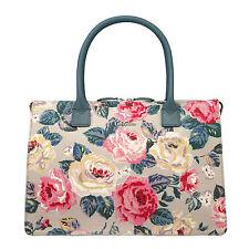 Cath Kidston Embossed Folio Handbag Forest Rose BNWT RRP £80