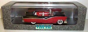 VITESSE 1/43 - 460 FORD FAIRLANE 1956 OPEN - BLACK / RED