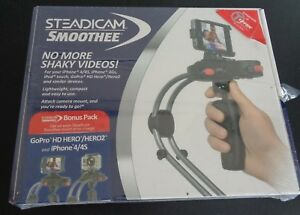 STEADICAM SMOOTHEE Stabilizer GPIP4 Camera Mount NEW Go Pro HD Hero iPhone 4 4S