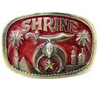 Vintage Shriner Belt Buckle - 1986 - The Great American Buckle Co # 1801..DBD121