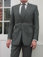 RACING GREEN NEW WOOL SUIT SIZE 38