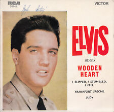 ELVIS PRESLEY Sings Wooden Heart EP