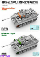 Rye Field 5025 1/35 Model Tiger I Early Production w/full interior & clear parts