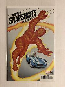 Marvels Snapshots Fantastic Four #1 Jack Kirby Hidden Gem Variant NM