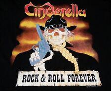 CINDERELLA 1988 TOUR CONCERT T-SHIRT XL (NEW) LONG COLD WINTER VINTAGE OOP RARE!