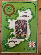 Gaa All Ireland Football semi final 1984 Kerry v Galway Roscommon v Tipperary