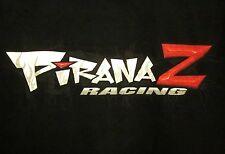 PIRANA Z RACING long-sleeve small T shirt motorsports PiranaZ tee NHRA drag race