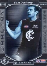 Teamcoach Single Carlton Blues AFL & Australian Rules Football Trading Cards