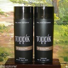 --2--TOPPIK MEDIUM  BROWN  GIANT 55 gr or 1.94 oz NEW, FRESH! FASTEST SHIP!