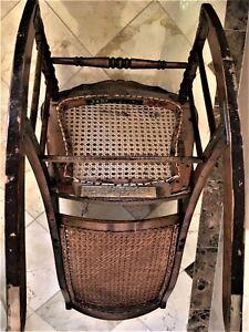 Furniture, wicker Rocking Chair.