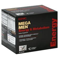 GNC Mega Men Energy & Metabolism Vitapak Program, 30 Packets