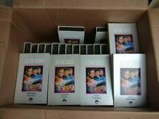 Star Trek Collectors Edition Original Series VHS Complete Set 39 Tapes + papers